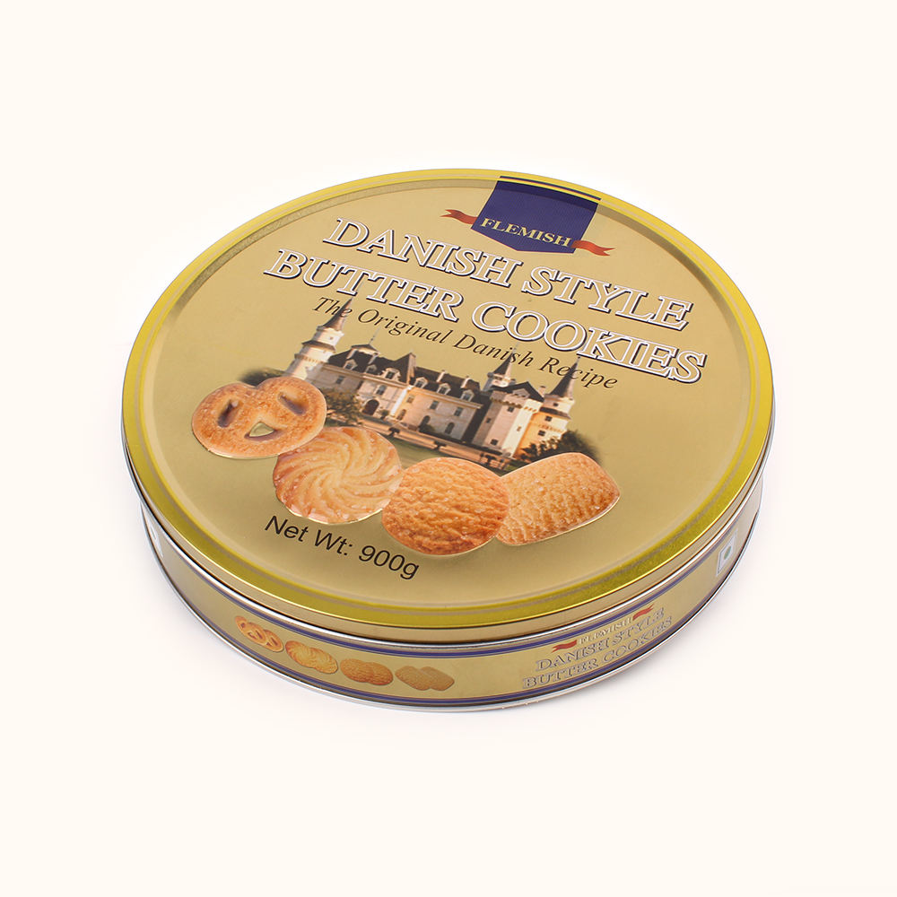 908g Danish Style Butter Cookies Tins