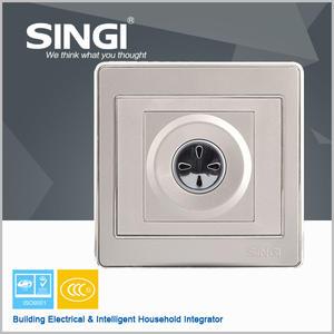 Новый дизайн высокого качества 60 Вт аудио-и свет контроль времени задержки с управления огнем главная настенный выключатель