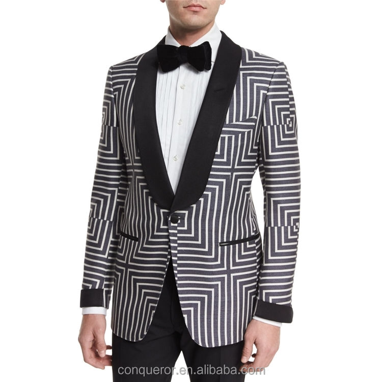 Order products from china blazers for men dg comfortable men's tight suit stripe mens designer suits