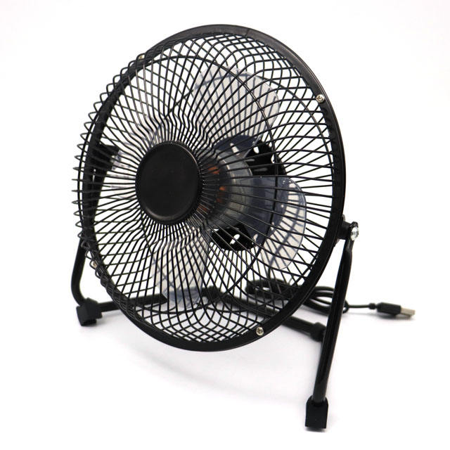 "8 ""Metal Air Cooling DC 5V Rechargeable Table Small Air Cooler Fan、8インチPortable Desk Mini USB Fan With Lithium Battery"