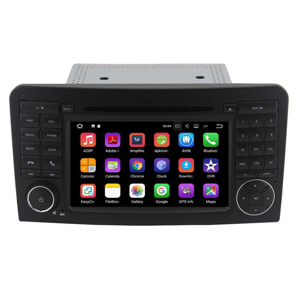 Android 10,0 auto <span class=keywords><strong>DVD</strong></span> für Mercedes Benz W164 ML350 ML430 ML450 ML500 Audio Player Autoradio