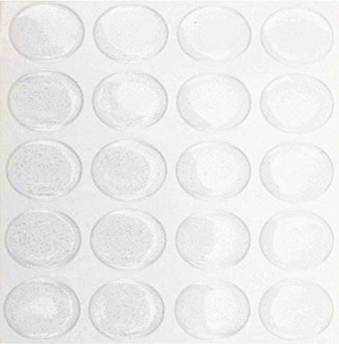 Clear Epoxy round sticker clear dome epoxy resin Label For Bottle