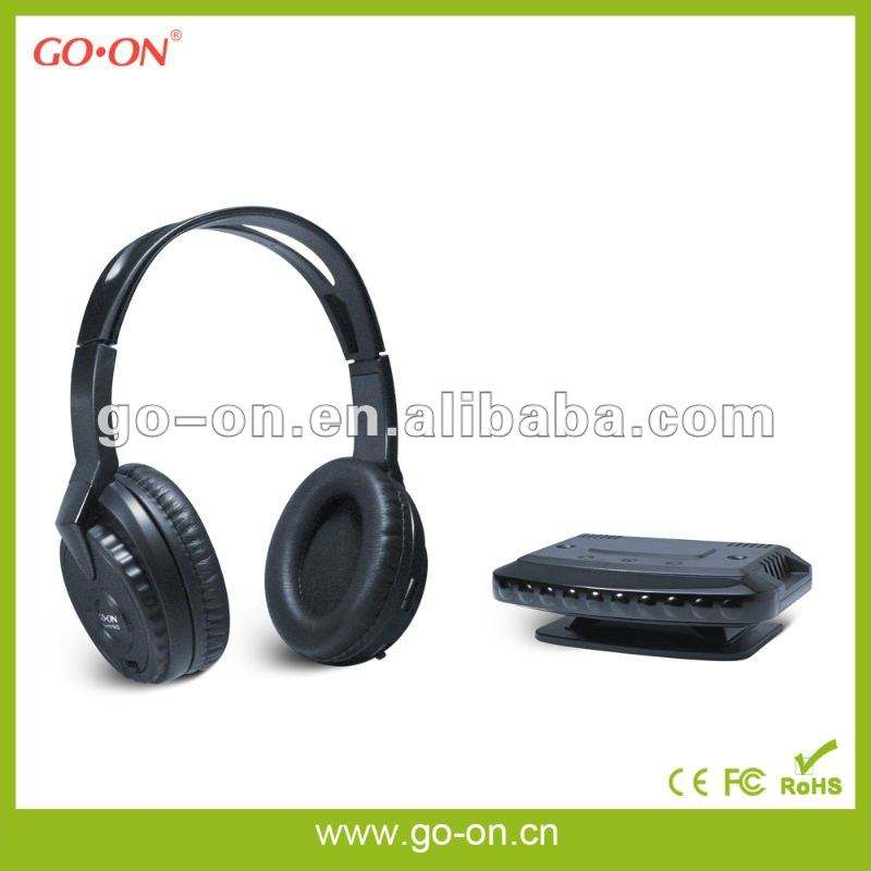 FM/VHF Cordless Headset with Radio & Microphone
