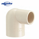 China manufacturer cpvc plastic pipe joint long elbow 90 pipe fittings