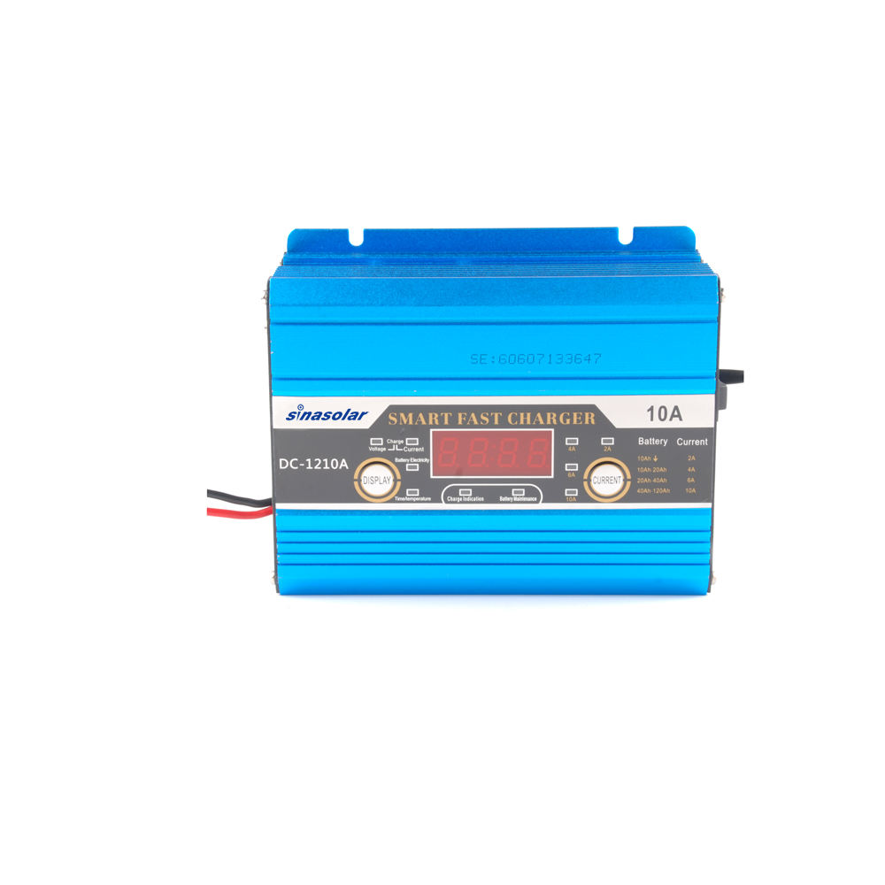 12V 10A Automatic Battery Charger Maintainer Smart Solar Panel Portable Universal Battery Charger