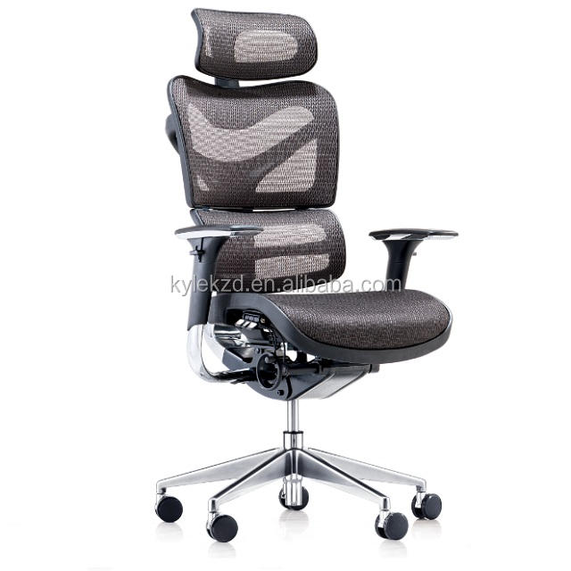 Modern Comfortable Full Mesh Office Executive Ergonomic Boss Chair With Footrest