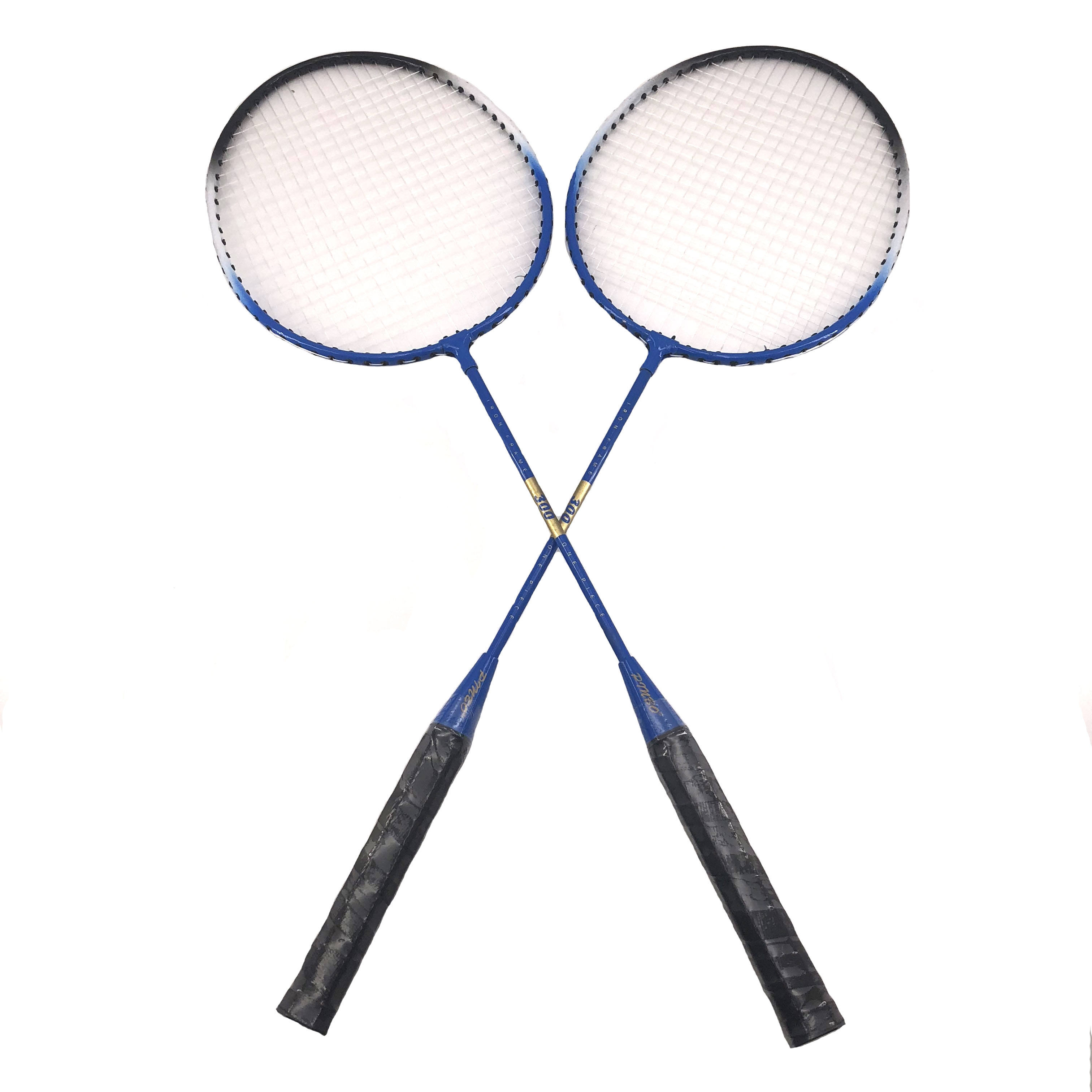 High quality low price cheap aluminum grip badminton racquets sports badminton rackets with shuttlecock