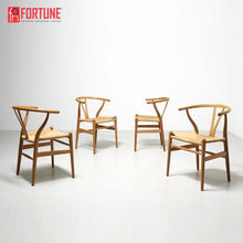 High quality Restaurant y-chair solid wood rattan chair for sale