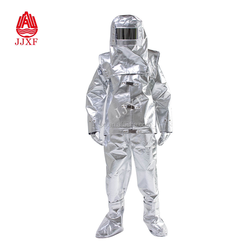 Radiation Protection Suit, thermal radiation aluminized Heat Insulation Fire Suit
