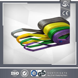 Double Ply Flat Polyester Webbing Sling