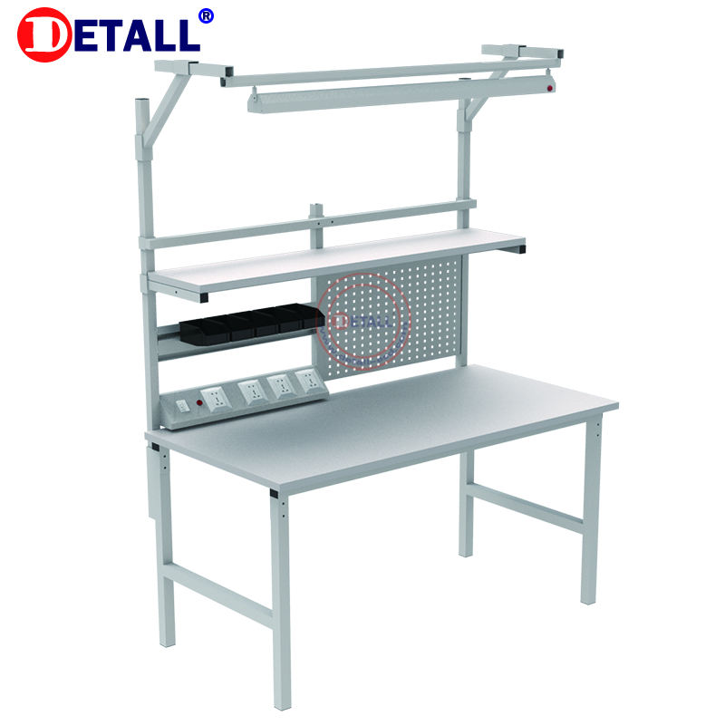 Venta superior altura ajustable Workbench línea de montaje antiestático <span class=keywords><strong>muebles</strong></span> para teléfonos móviles