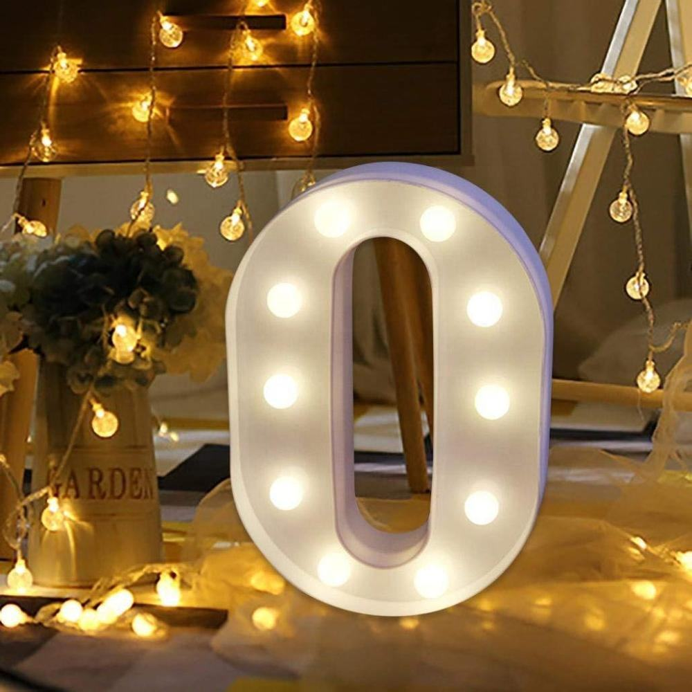 26 English Alphabet Home Decor Party marquee light letters mini wedding love decoration led letter light up
