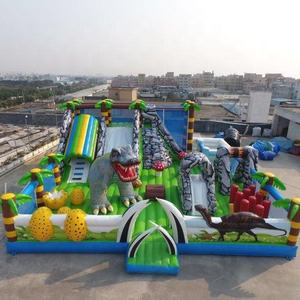 High quality factory price inflatable bouncer playground fun city games for sale
