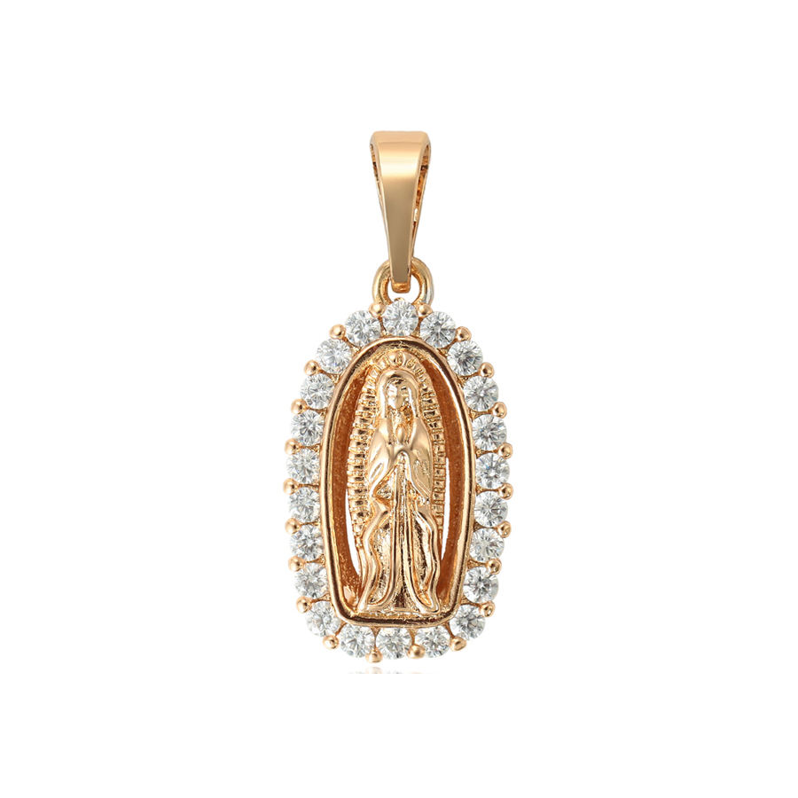 33667 xuping Hot sale religion style 18k golden plated pendant for women
