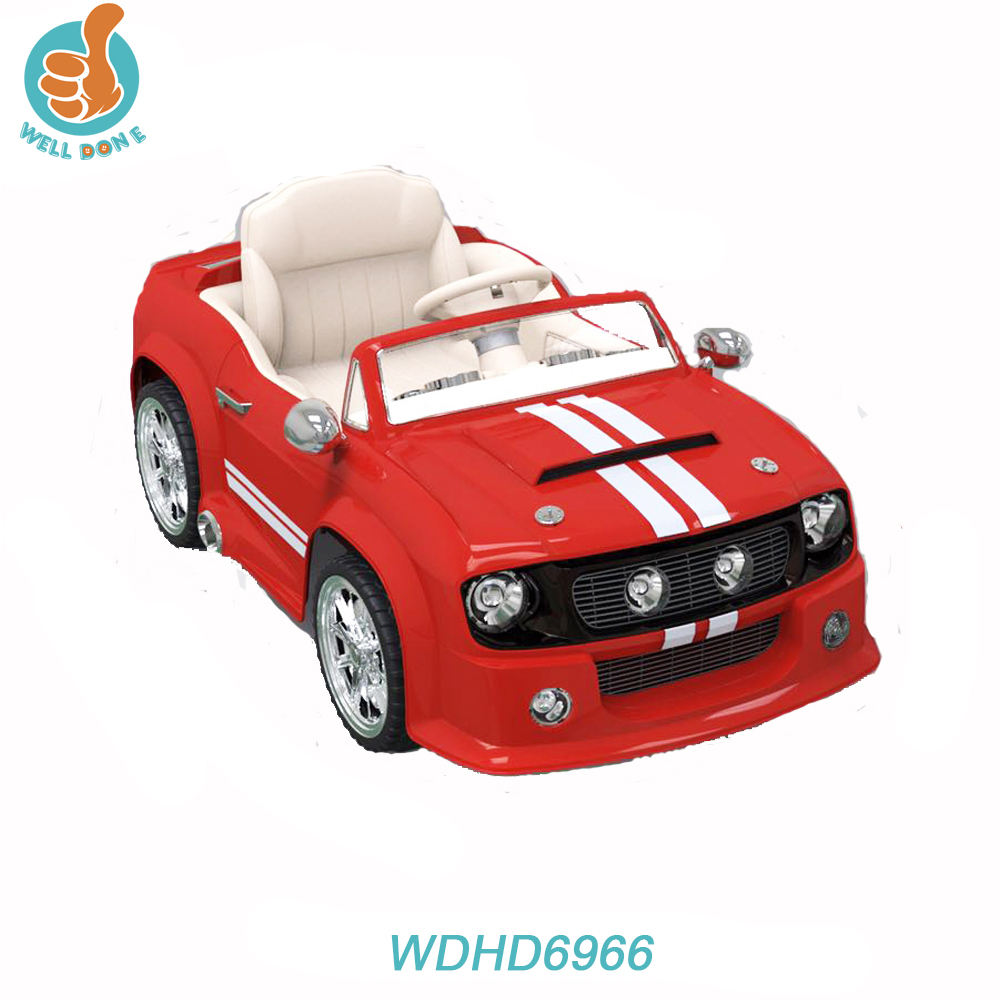 Hot selling huada car toy ride on with music, 2.4G R/C including WDHD6966