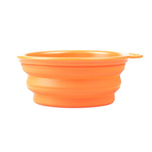 Hot Sale Eco-friendly Collapsible Silicone Dog Bowl