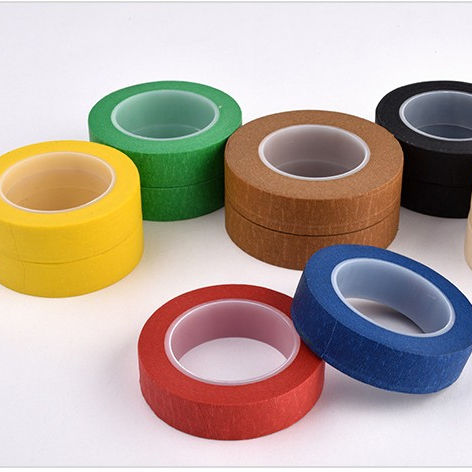 Heat Resistant Red Masking Tapes for Car Painting