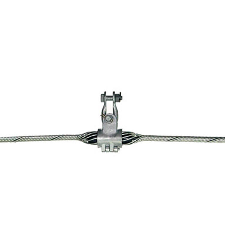 pole line hardware NLL type bolt type strain clamp tension clamp