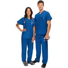 Wholesale Natural Medical Nurse Uniforms Scrub Cherokee Set - Medical Scrub Top And Pant