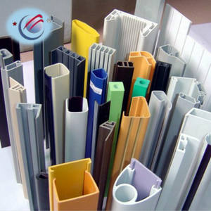 u-shaped extrusion dies PVC / UPVC / PP / PMMA / PC plastic profiles