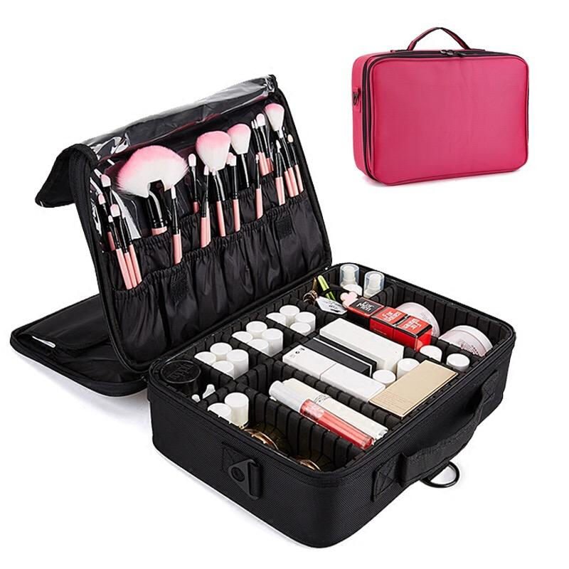 Portable Cosmetic Bag Makeup Case Make Up Travel Bag
