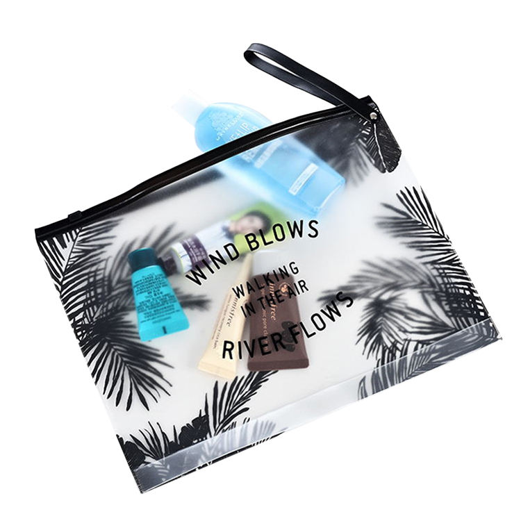 ECO GREEN Clear Bags Transparent Bag PVC Cosmetic Pouch