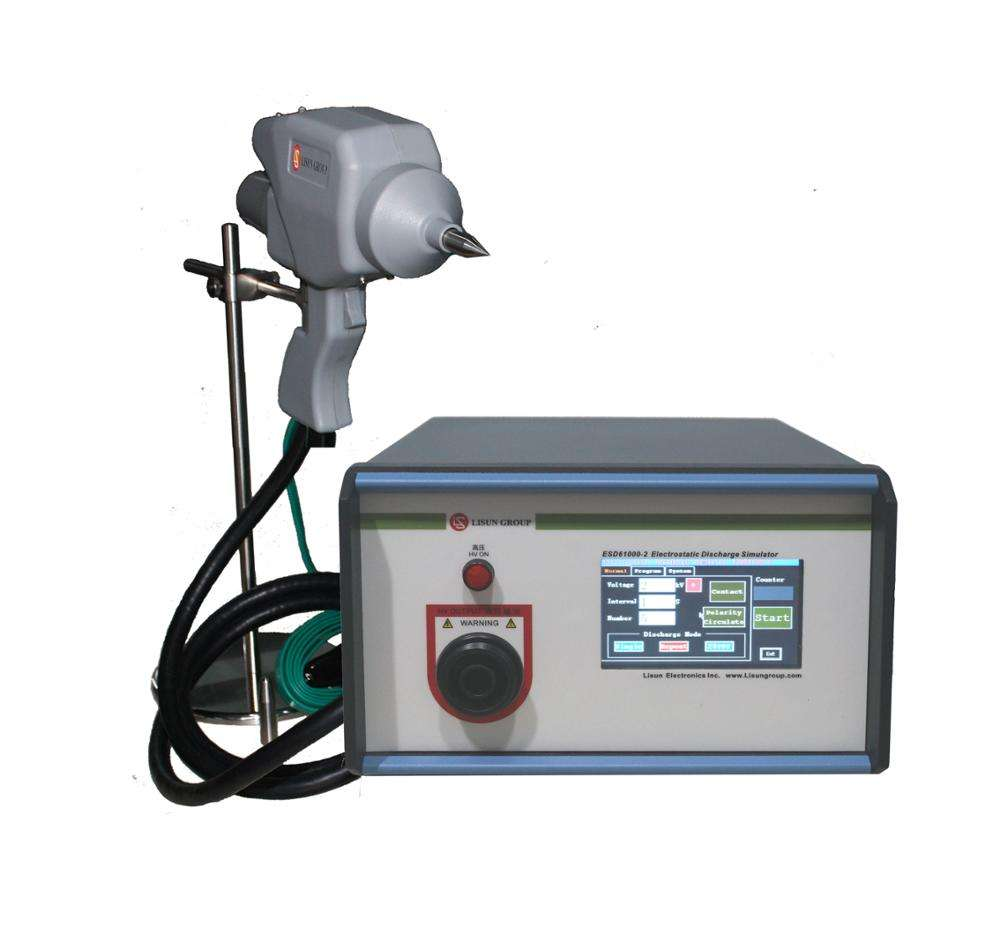 Lisun ESD61000-2 Electrostatic Discharge Simulator Device with the Electronic Equipment to Withstand ESD Performance