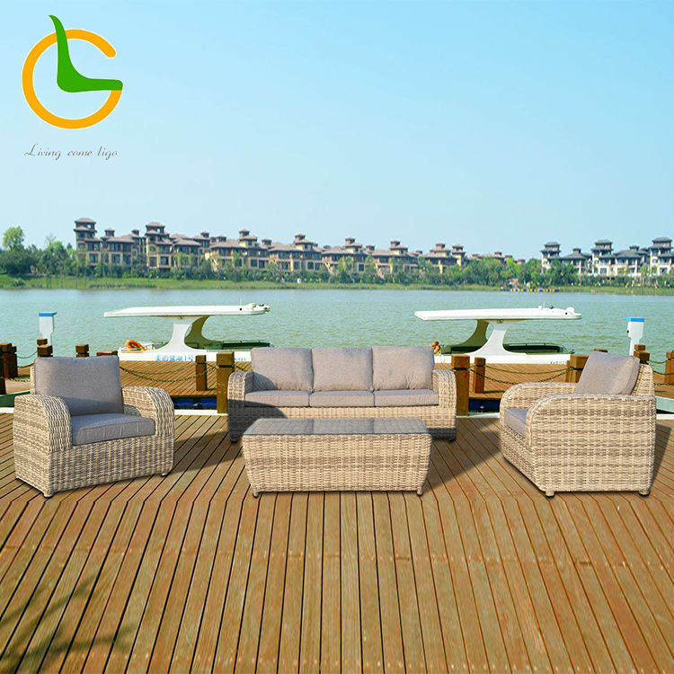 Factory wholesale Australia hot sale big lots high quality bamboo rattan outdoor furniture