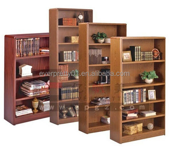 Factory Customized Library Furniture Wooden Bookcase for Library