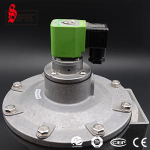 China supplier Explosion proof solenoid diaphragm pulse jet valve