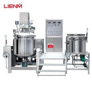 Vacuum High Shear Homogenizer  Industrial Blender  Cream Homogeneous Mixer Emulsifying Machine
