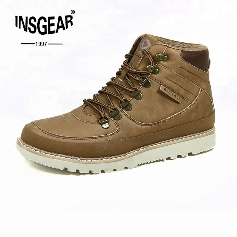 comfortable middle cut men work boots