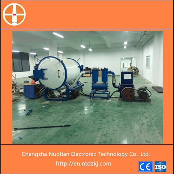High temperature of 2500 degree celsius induction type vacuum tungsten carbide brazing sintering furnace for tungsten carbide