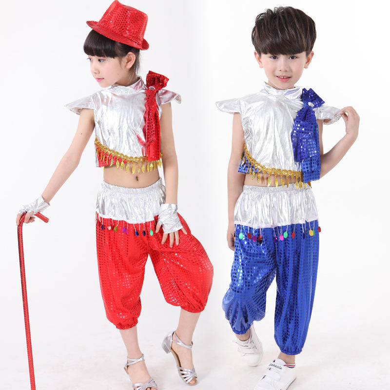New boys and girls jazz dance hip-hop modern dance costume