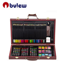 Personalized Multi Color Artist Painting Sketching Drawing With Wooden Box