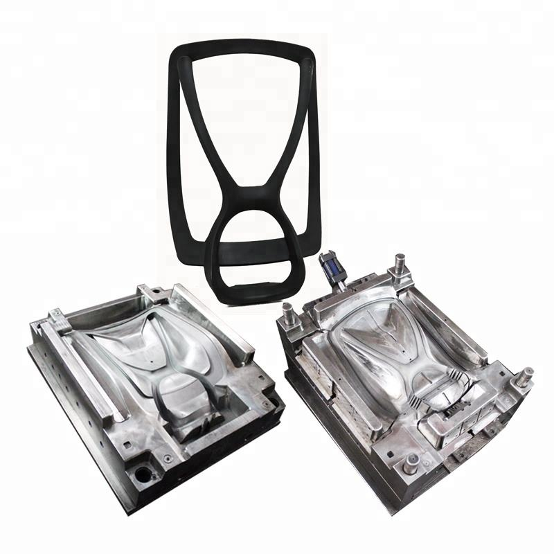 Plastic high quality injection mould manufacturer making office chair mould backrest moulds
