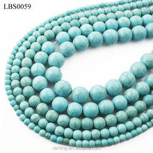 Natural Stone Blue Turquoise Loose Stone Beads