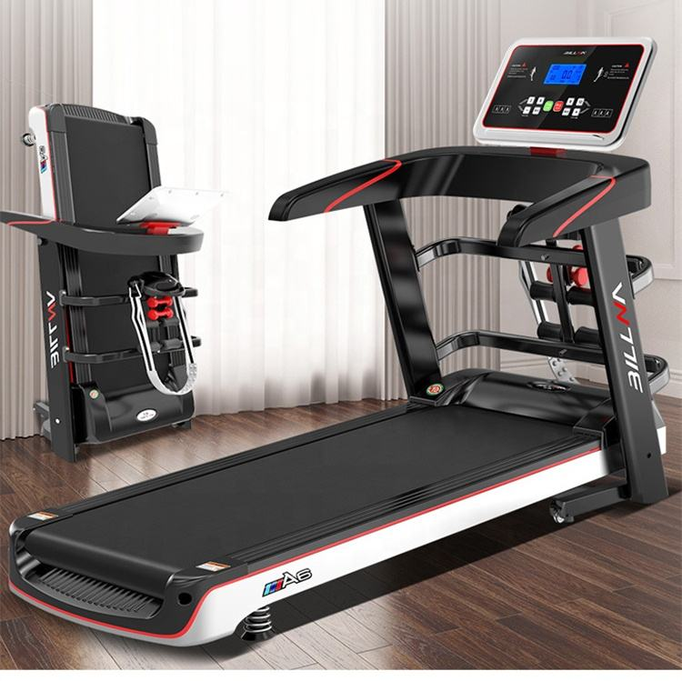 2020 Upgrade Treadmill with Massage Machine Dumbbell Home Fitness Treadmill
