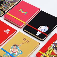 100gsm art journal anime advertisement notebook hardcover with gold notebook maker