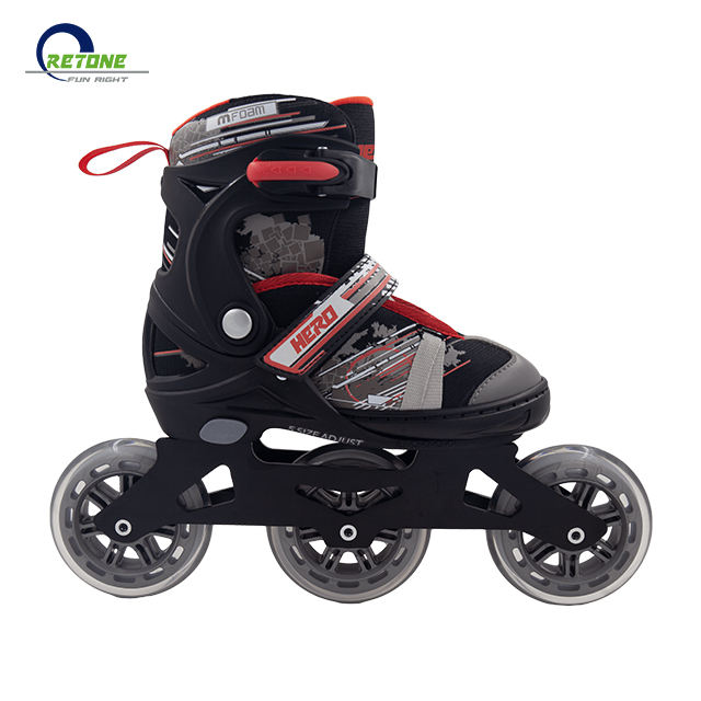 High Quality Outdoor ABEC-7 Bearing Width Adjustable PP Frame Inline Skate