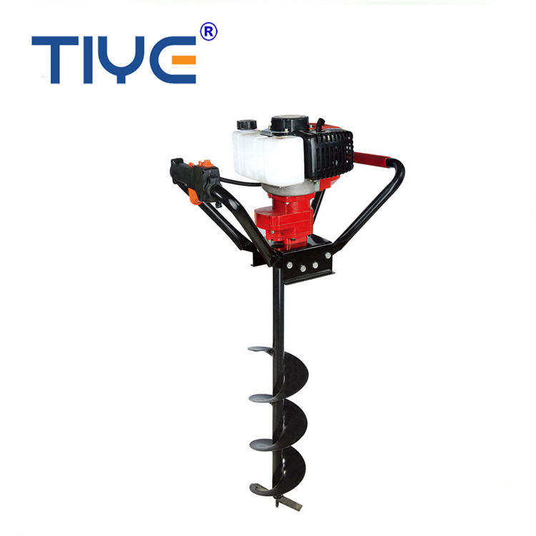 TIYE power 52cc earth auger driller post hole digger 520