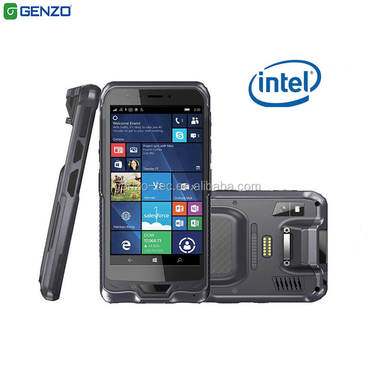 6 inch PDA Barcode Scanner Mobile pda Windows 10 Handheld Terminal Computer