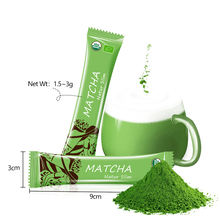 Organic Japanese Green Tea Halal Pure Matcha Tee Bio Certificate Te Private Label Capsule Kitkat Matcha Green Tea