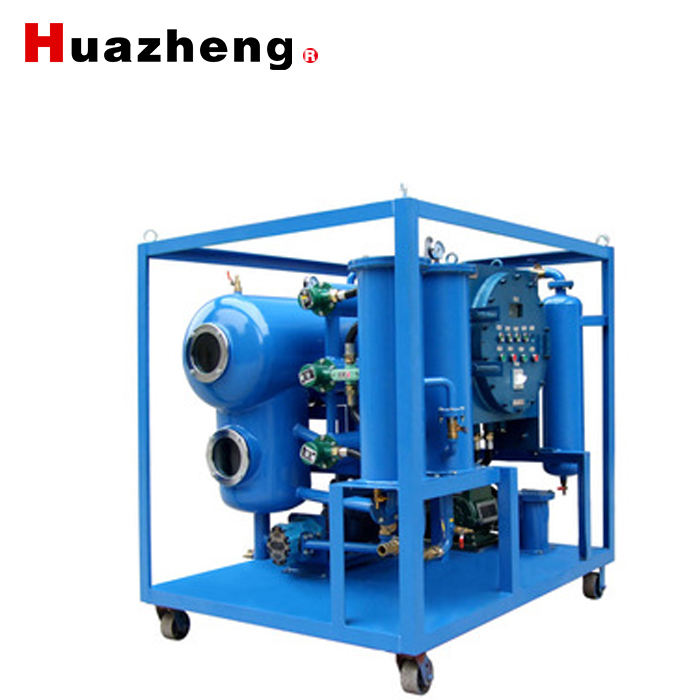 double-stage vacuum transformer oil purification plant machine single stage insulation oil purifier