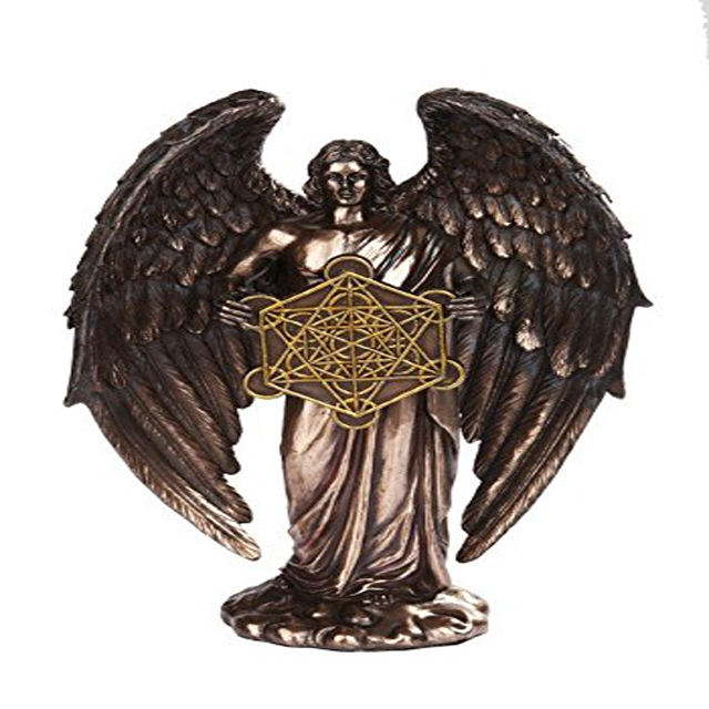 Metatrons Engel Orthodoxe Religiöse Bronze Finish Statue Figurine