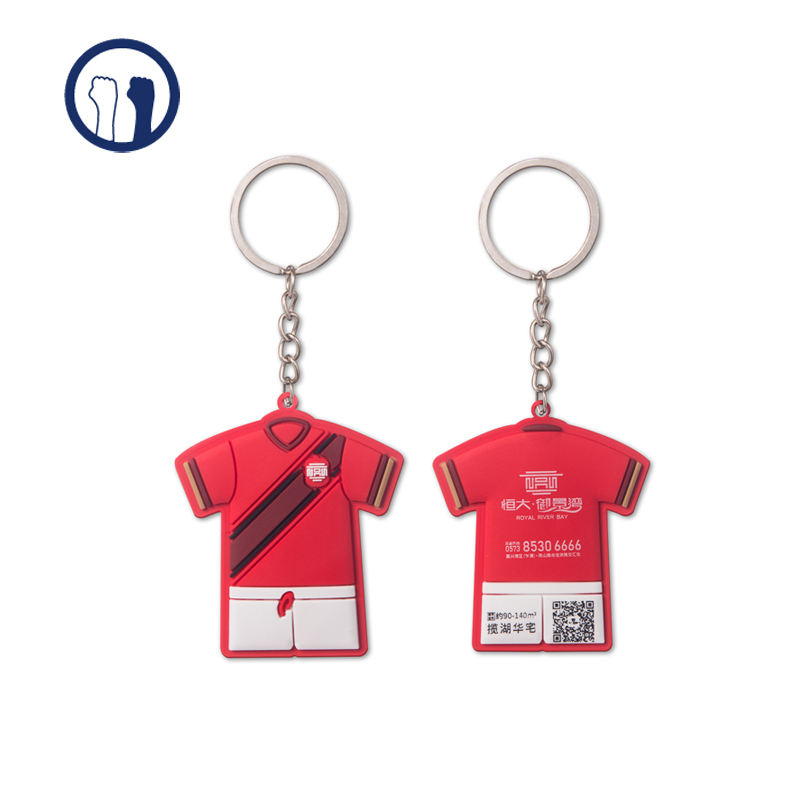 3D double sided cartoon Keychain,pvc Keychain with custom package support 2D 3D design services