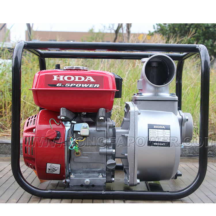 3 Inch 5.5hp Honda Farm Irrigatie Benzine Benzine Waterpomp Machine