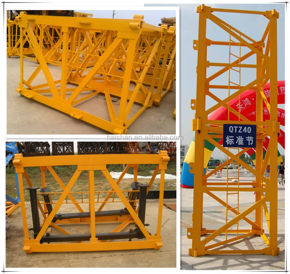 QTZ6015 Tower Crane Construction Equipment for Sale