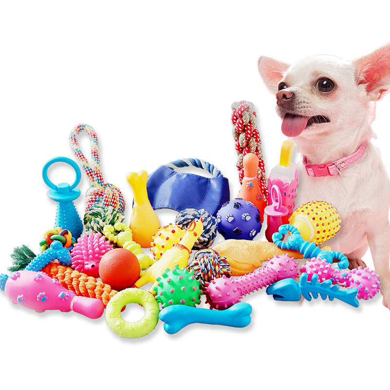 2019 new Durable soft rubber dog toy for all pet