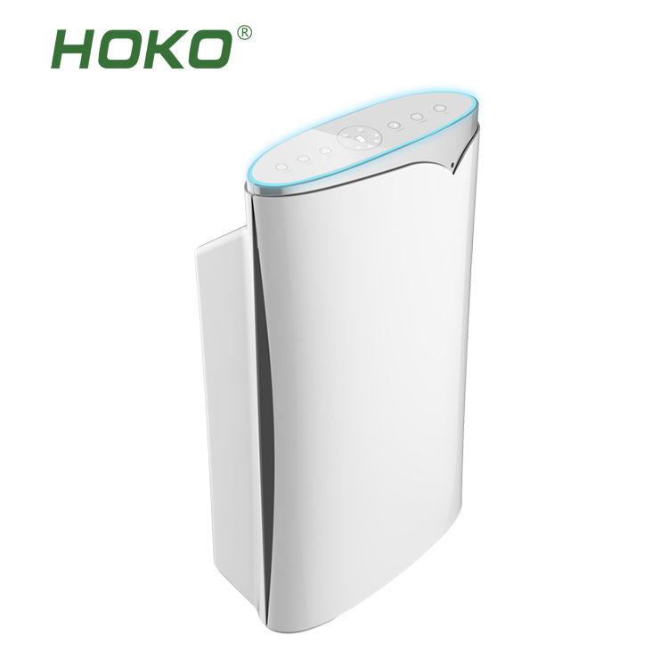 HOKO 2018 inovação eletrodoméstico usado para a purificação do ar, removendo a poeira alergia, fumaça e poluição